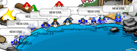 Water Troops revival event, maxing 10 penguins